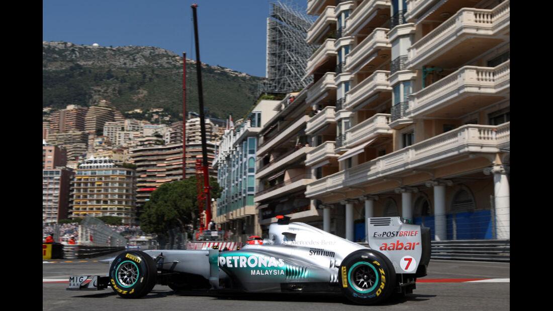 Michael Schumacher GP Monaco 2011