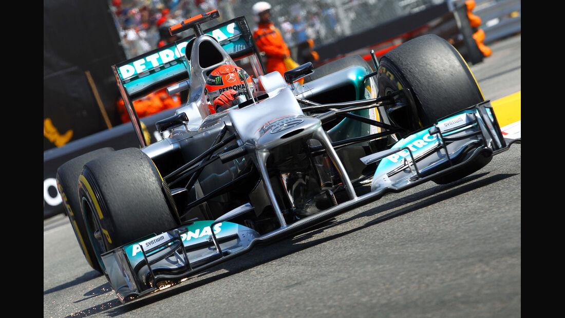Michael Schumacher GP Monaco 2012