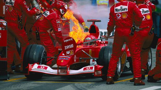 Michael Schumacher - GP Österreich 2003