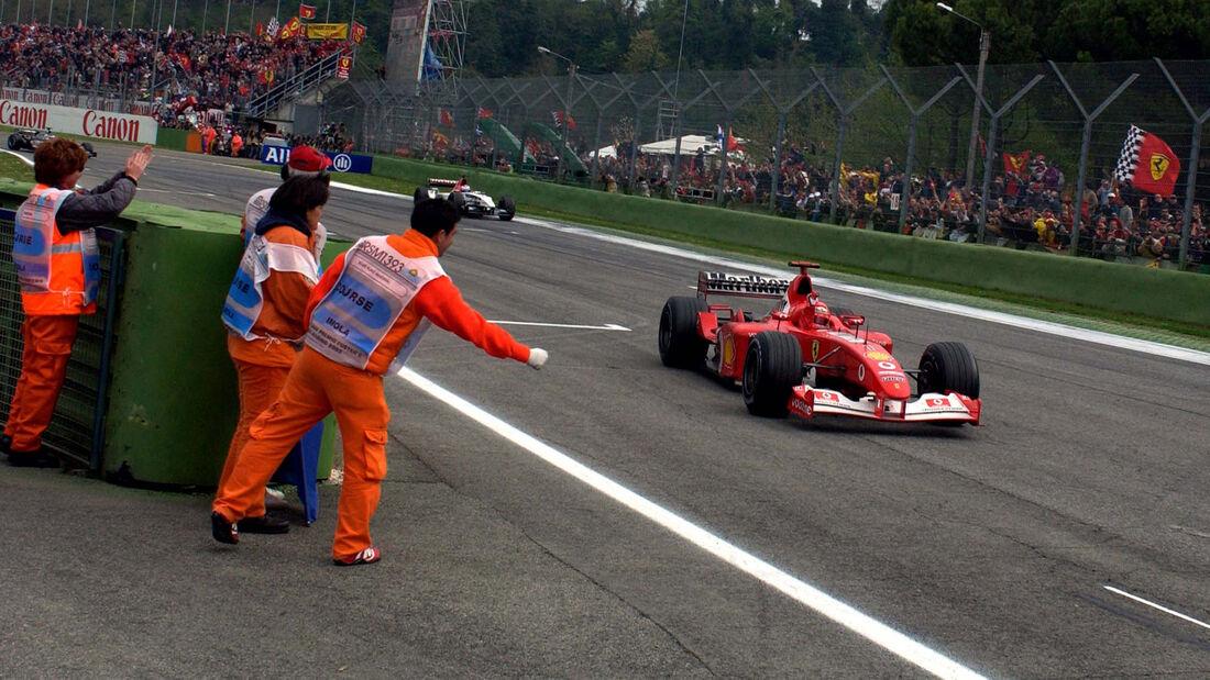 Michael Schumacher - GP San Marino 2003