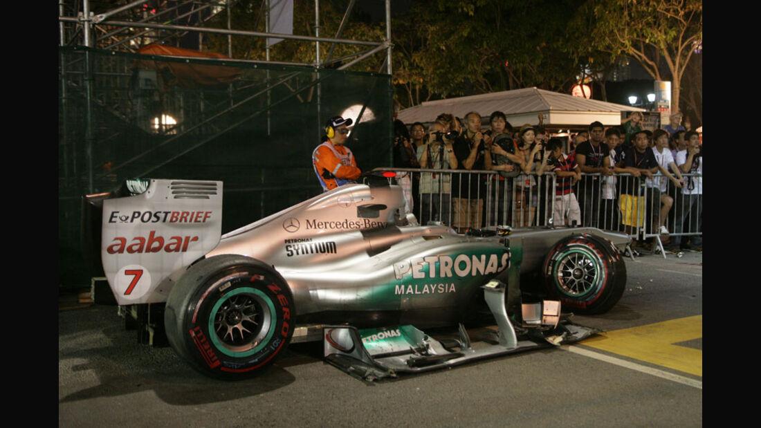 Michael Schumacher GP Singapur 2011