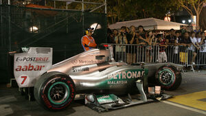 Michael Schumacher GP Singapur 2011