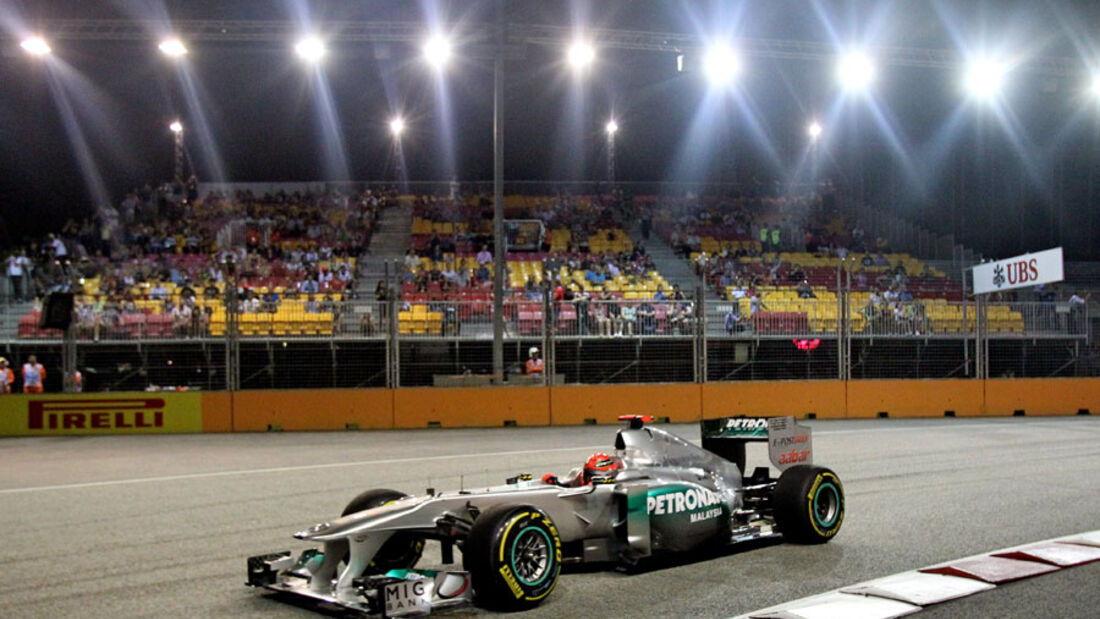 Michael Schumacher - GP Singapur - 23. September 2011