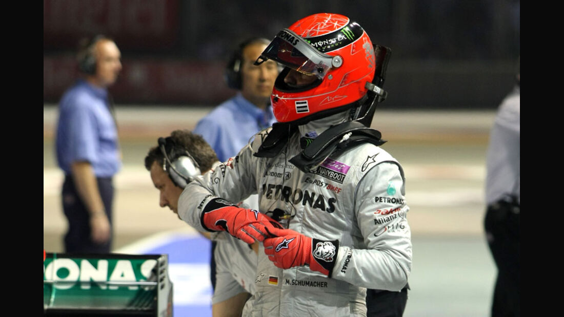 Michael Schumacher - GP Singapur - 24. September 2011