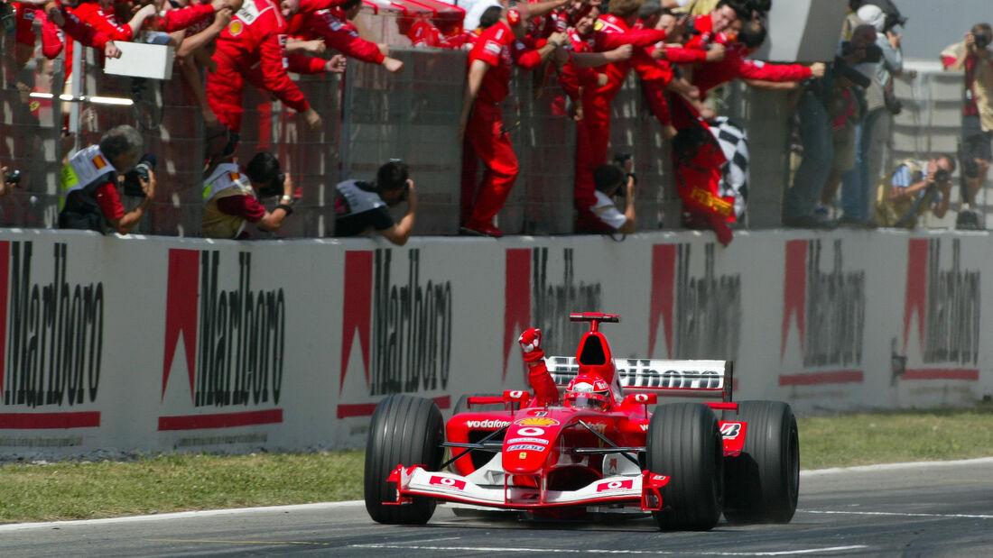 Michael Schumacher - GP Spanien 2003