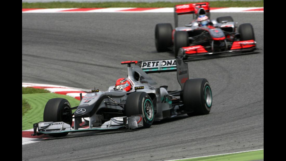Michael Schumacher GP Spanien 2010