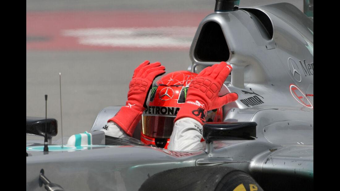 Michael Schumacher GP Spanien 2012