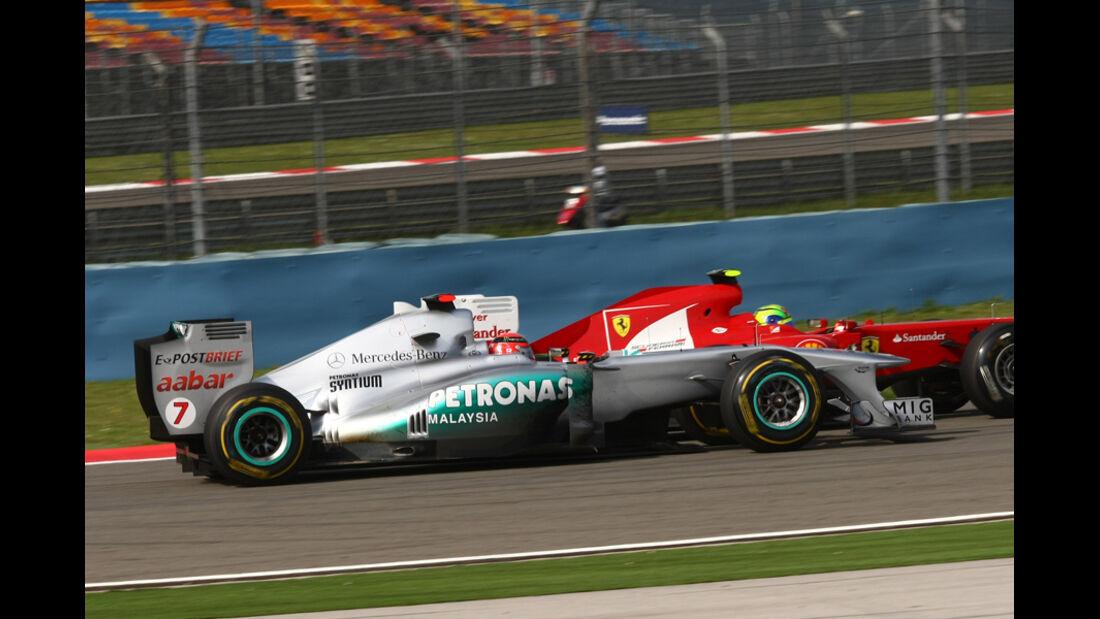 Michael Schumacher GP Türkei 2011