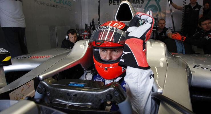 Michael Schumacher - GP Türkei 2011