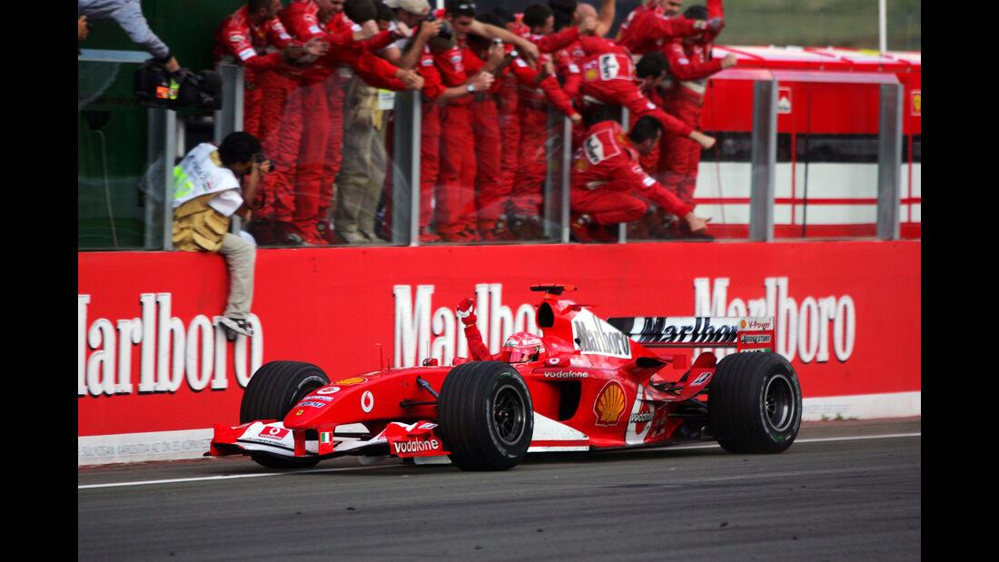 Michael Schumacher - GP Ungarn 2004