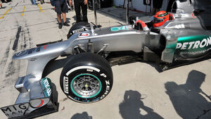 Michael Schumacher GP Ungarn 2012