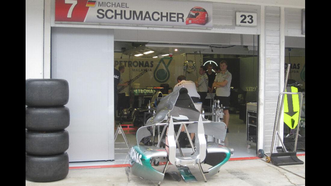 Michael Schumacher - GP Ungarn - Formel 1 - 28.7.2011