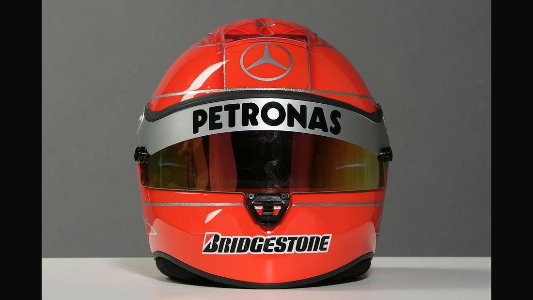 Michael Schumacher Helm 2010