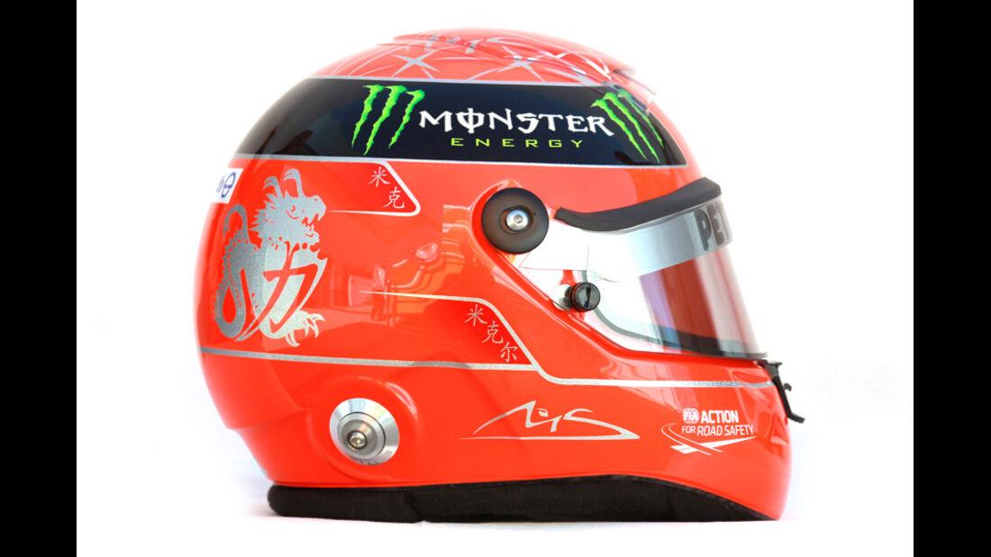 Michael Schumacher Helm 2012