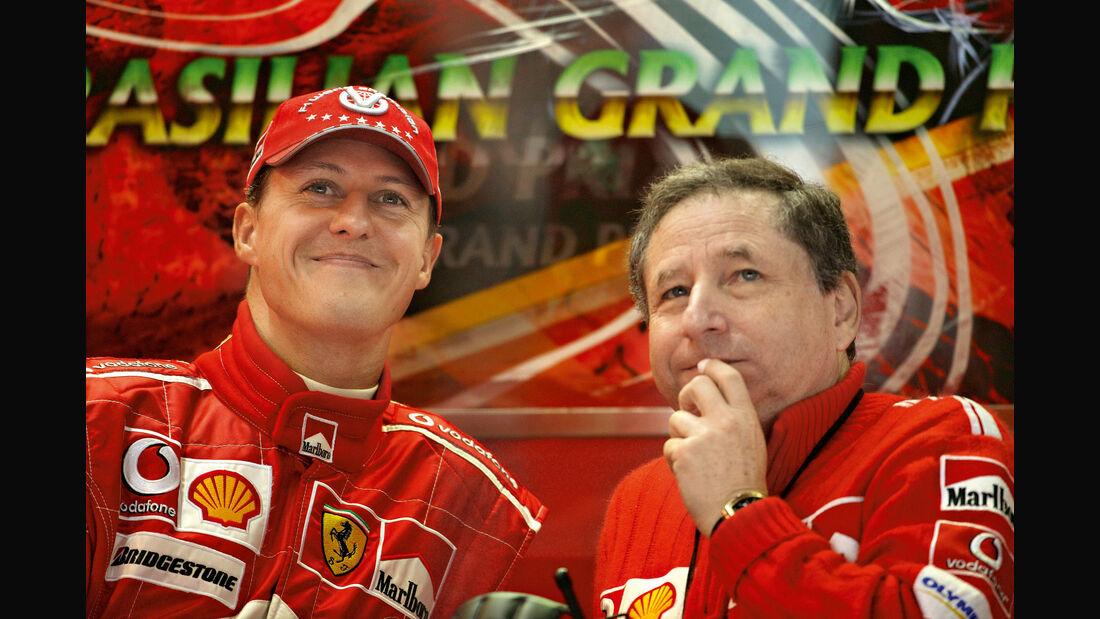 Michael Schumacher - Jean Todt - Ferrari