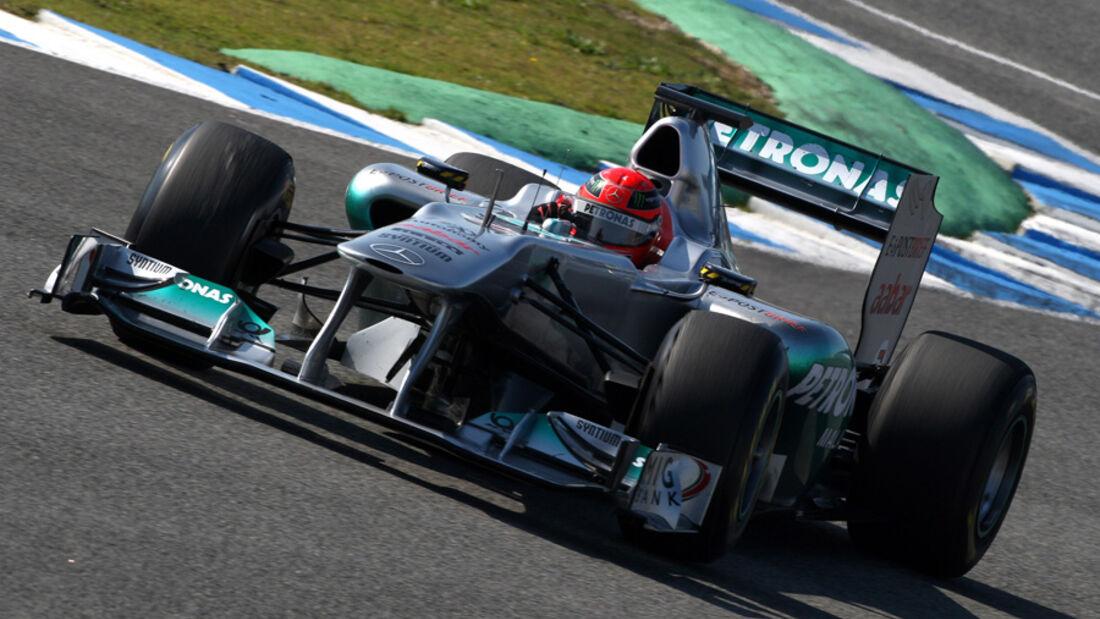 Michael Schumacher - Jerez 2011