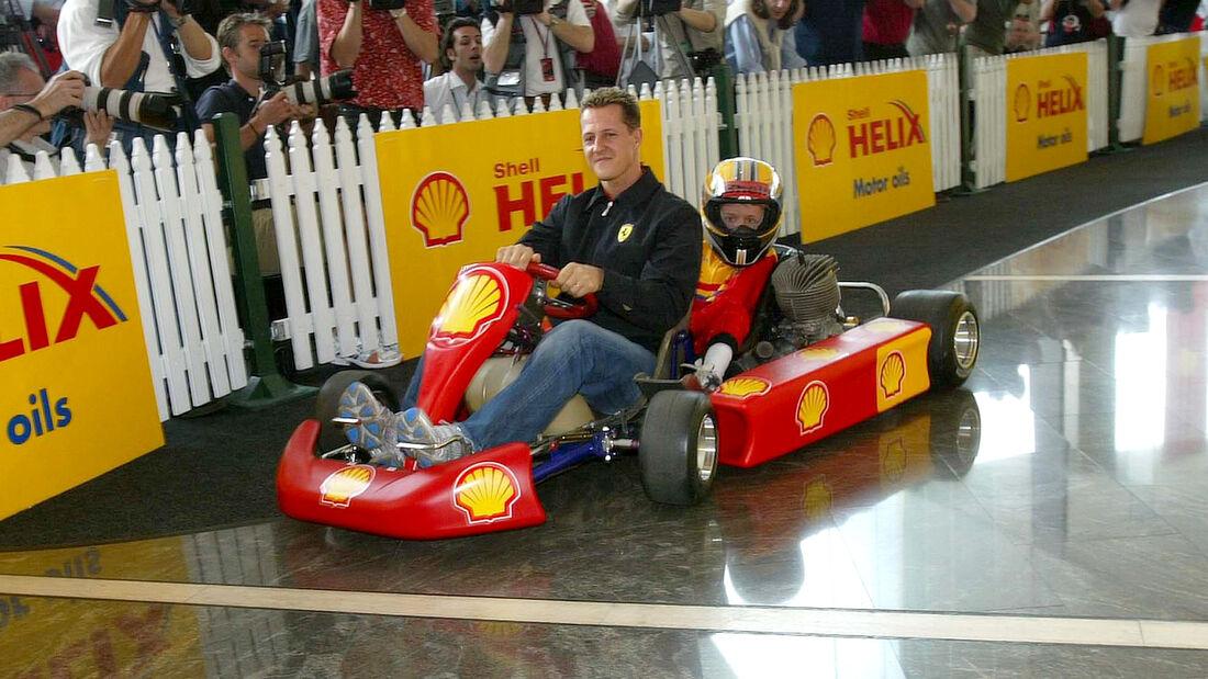 Michael Schumacher - Kart - 2-Sitzer