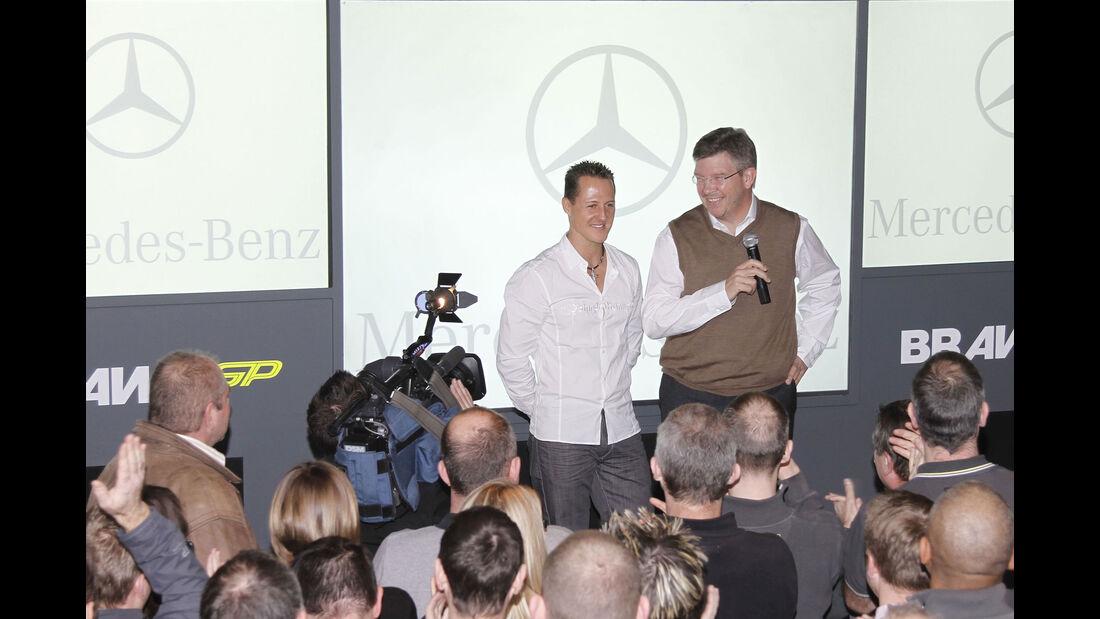 Michael Schumacher - Mercedes - Comeback - Dezember 2009