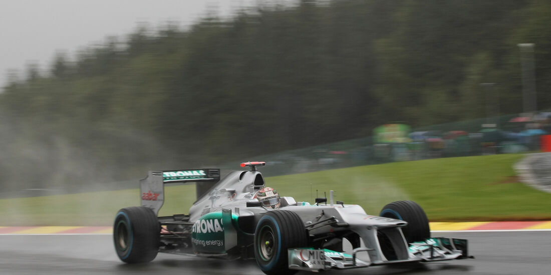 Michael Schumacher - Mercedes - Formel 1 - GP Belgien - Spa-Francorchamps - 31. August 2012