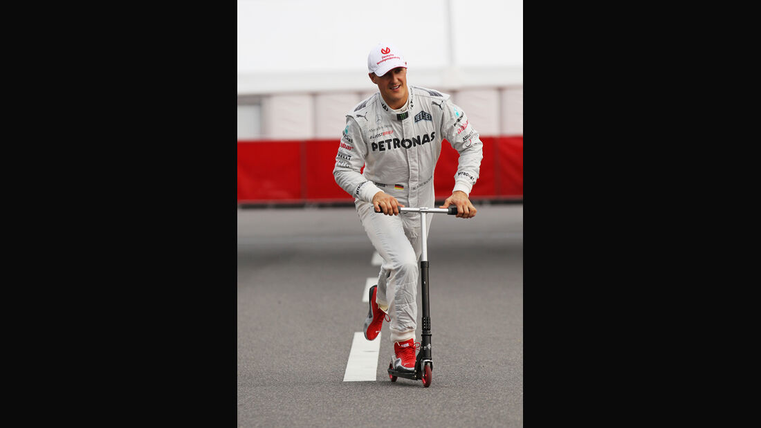 Michael Schumacher - Mercedes - Formel 1 - GP Japan - Suzuka - 6. Oktober 2012
