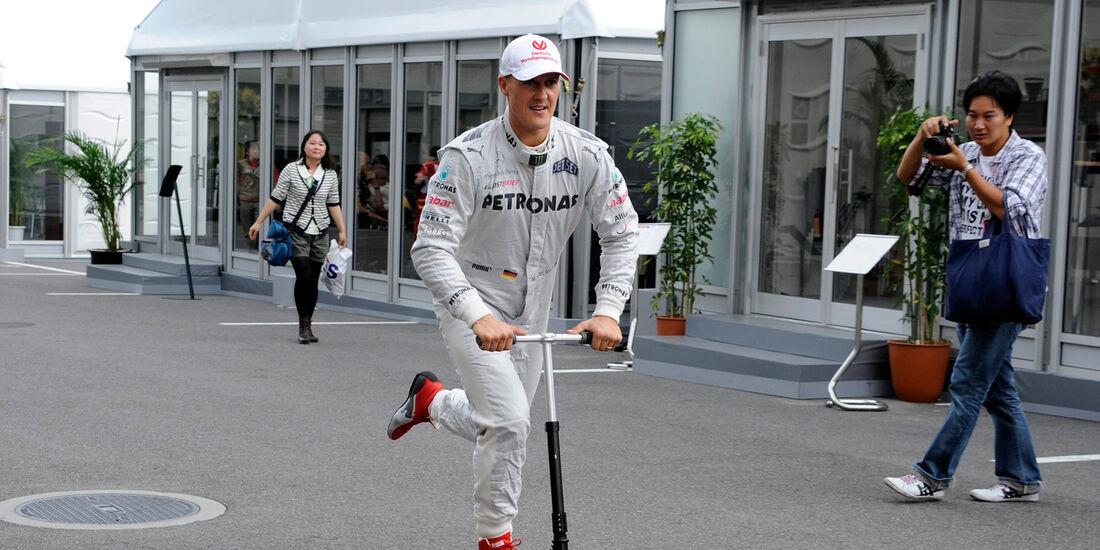 Michael Schumacher - Mercedes - Formel 1 - GP Japan - Suzuka - 6. Oktober 2012