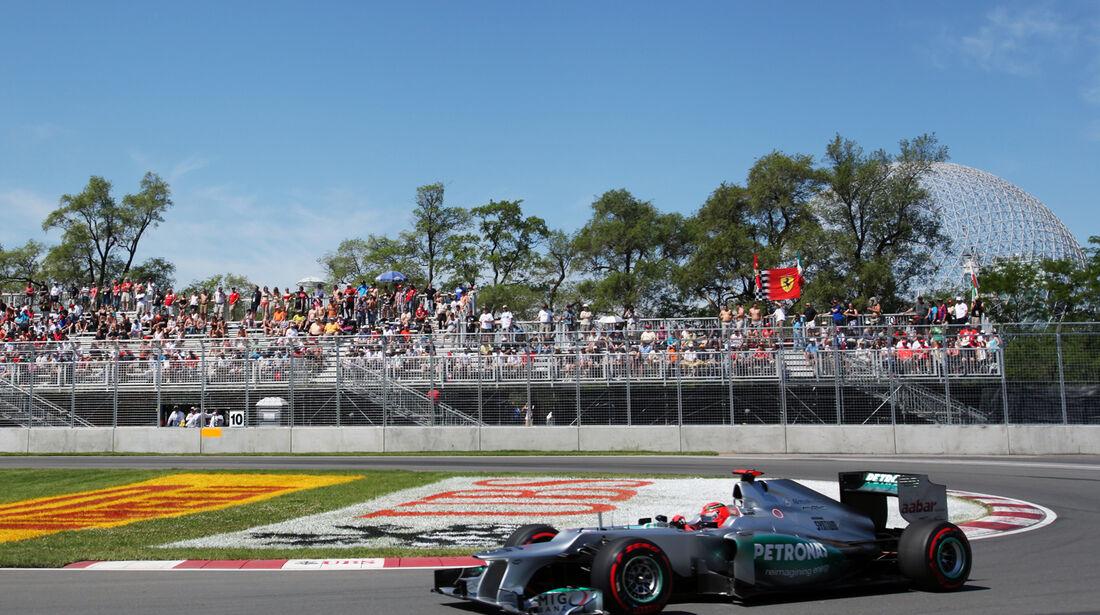 Michael Schumacher - Mercedes - Formel 1 - GP Kanada - 10. Juni 2012