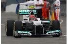 Michael Schumacher - Mercedes - Formel 1 - GP Kanada 2012 - 8. Juni 2012