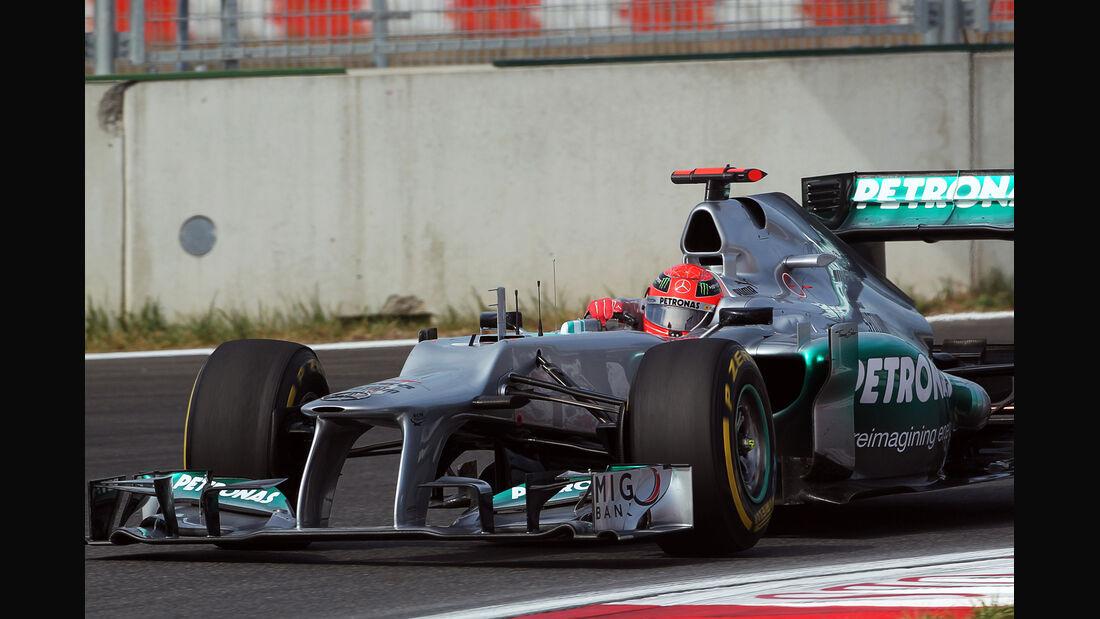 Michael Schumacher - Mercedes - Formel 1 - GP Korea - 12. Oktober 2012