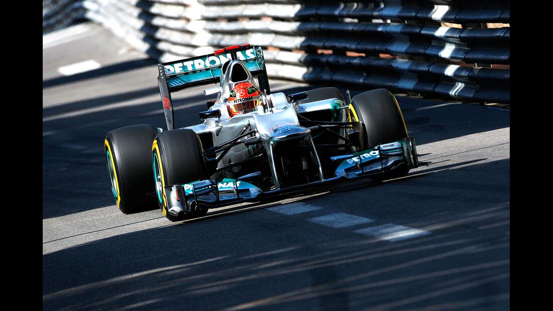 Michael Schumacher - Mercedes - Formel 1 - GP Monado - 24.Mai