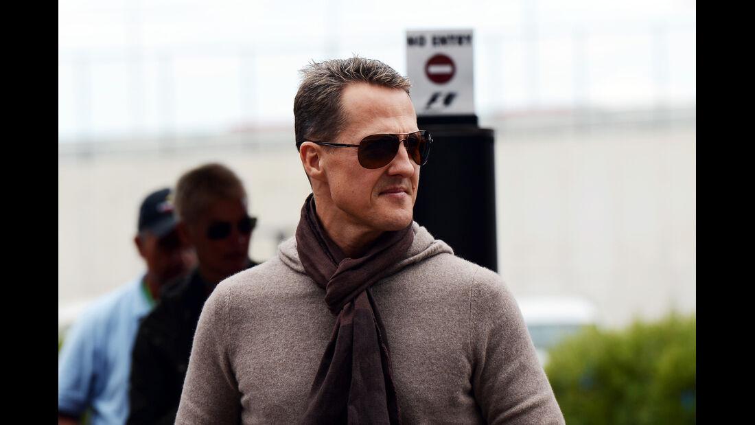 Michael Schumacher - Mercedes - Formel 1 - GP USA - Austin - 15. November 2012