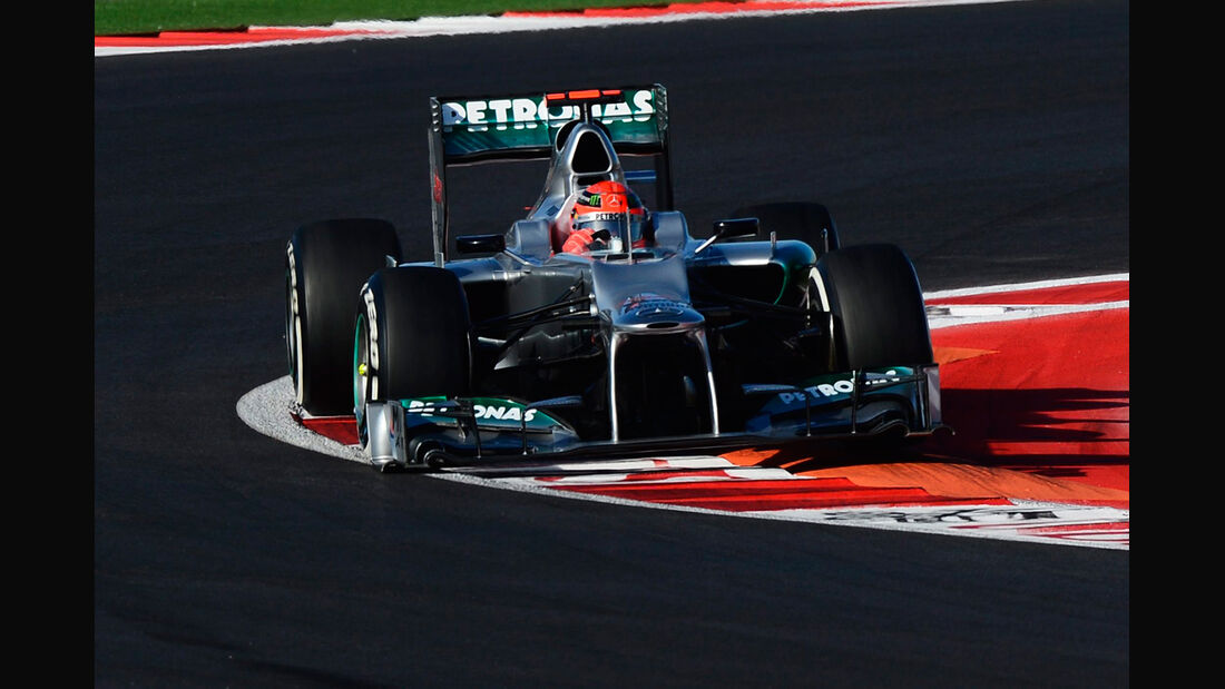 Michael Schumacher - Mercedes - Formel 1 - GP USA - Austin - 17. November 2012
