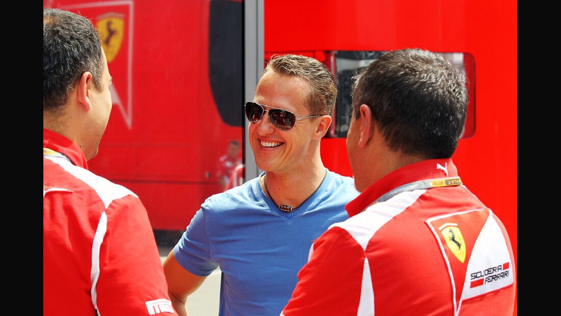 Michael Schumacher - Mercedes - Formel 1 - GP Ungarn - Budapest - 26. Juli 2012