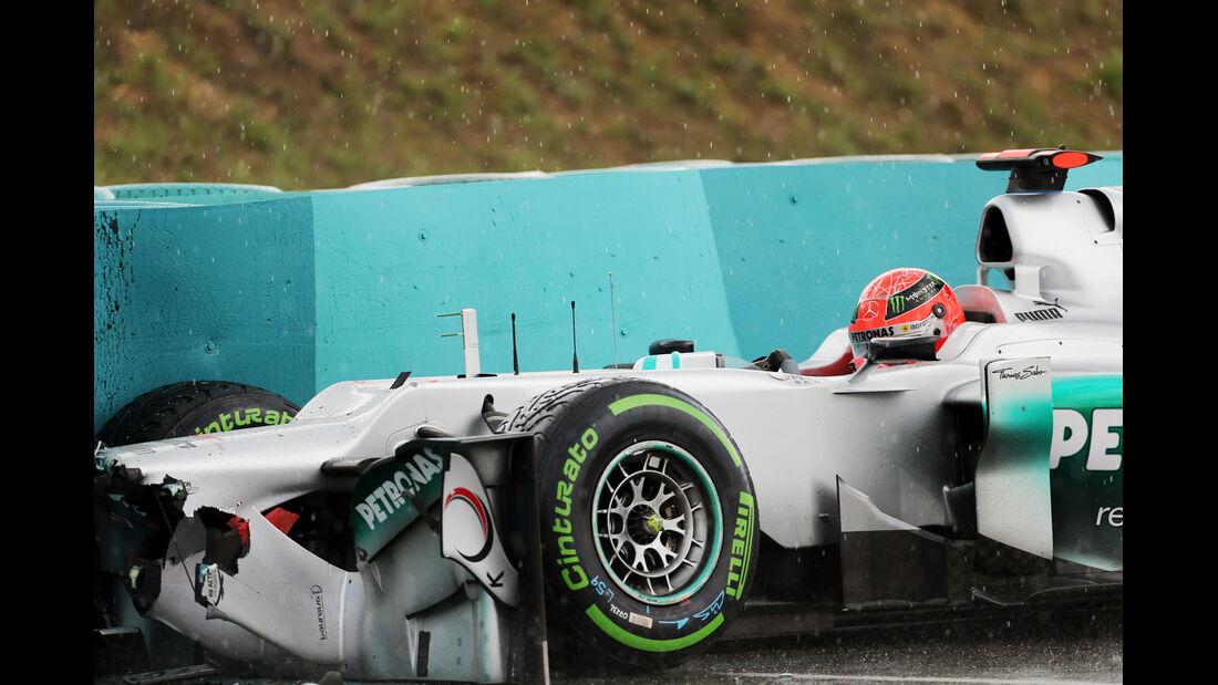 Michael Schumacher - Mercedes - Formel 1 - GP Ungarn - Budapest - 27. Juli 2012