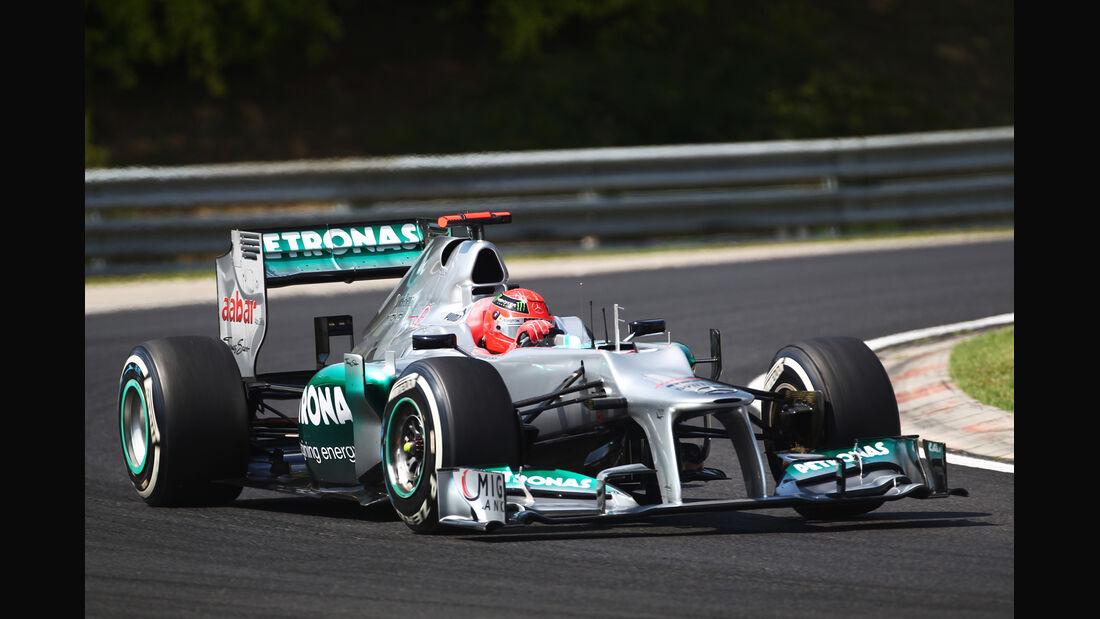 Michael Schumacher - Mercedes - Formel 1 - GP Ungarn - Budapest - 28. Juli 2012