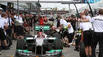 Michael Schumacher - Mercedes - GP Australien - Melbourne - 16. März 2012