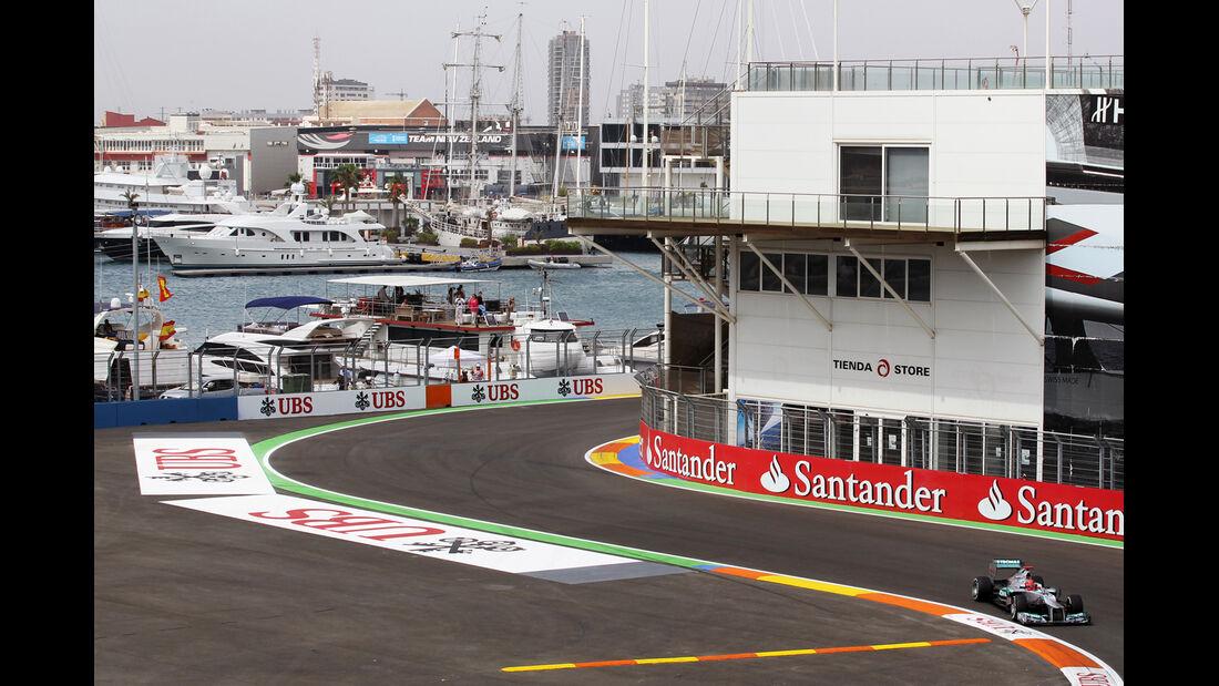 Michael Schumacher - Mercedes - GP Europa - Valencia - Formel 1 - 22. Juni 2012