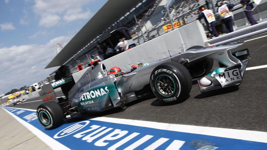 Michael Schumacher Mercedes GP GP Japan 2011