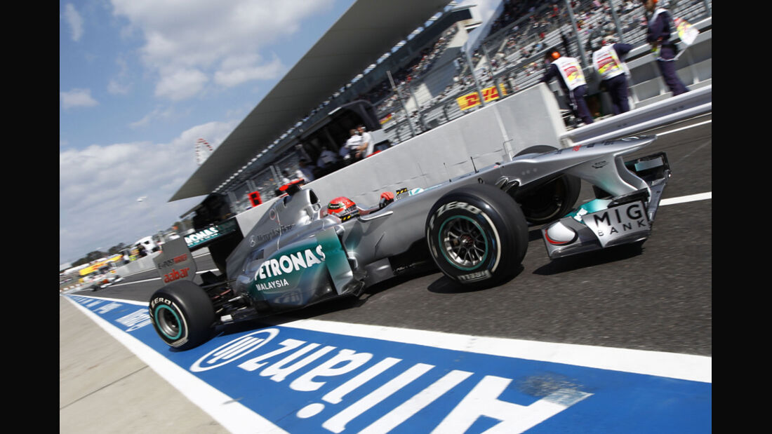 Michael Schumacher Mercedes GP GP Japan 2011