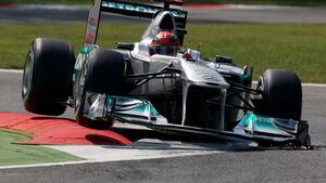 Michael Schumacher Mercedes GP Italien 2011