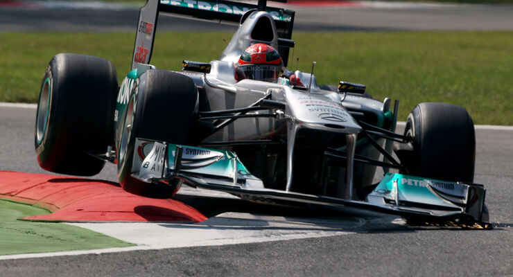 Michael Schumacher Mercedes GP Italien 2011