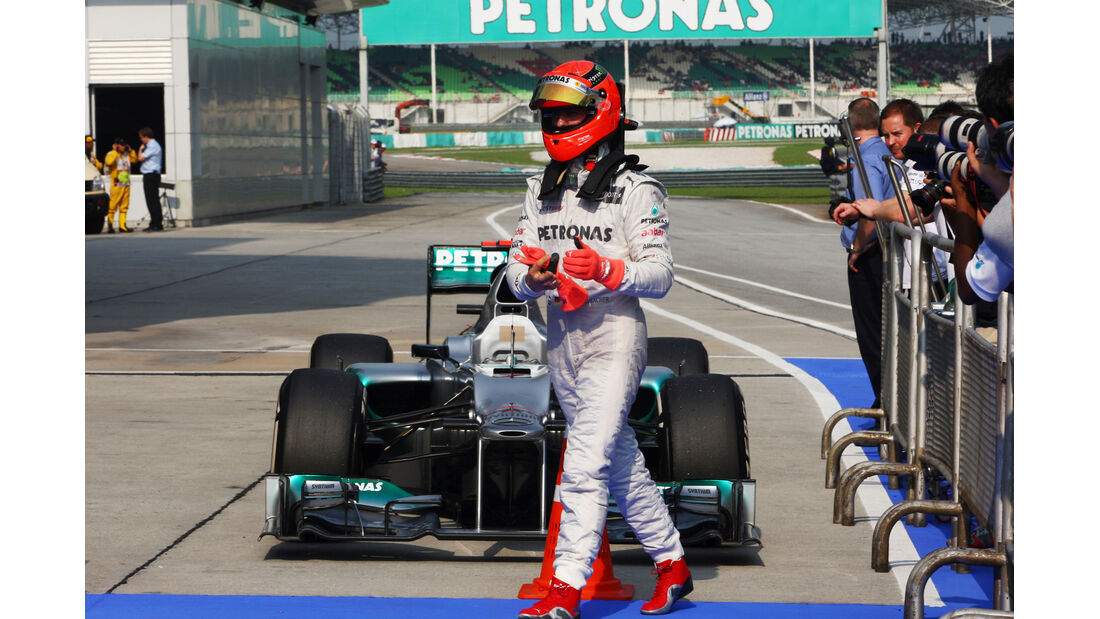 Michael Schumacher - Mercedes - GP Malaysia 2012