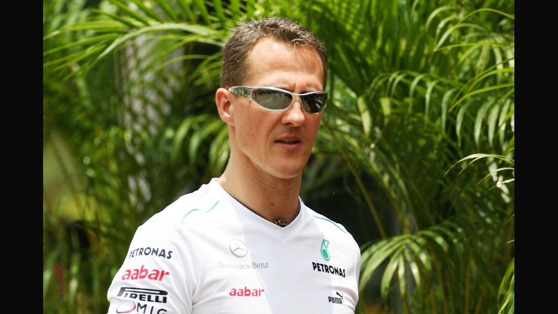 Michael Schumacher - Mercedes - GP Malaysia - 22. März 2012