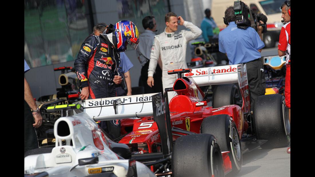Michael Schumacher - Mercedes - GP Malaysia - 24. März 2012