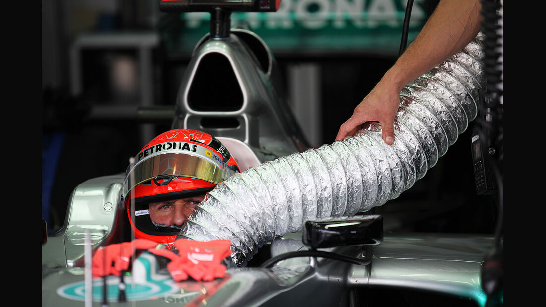 Michael Schumacher - Mercedes - GP Malaysia - Training - 23. März 2012