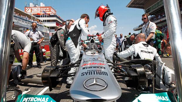 Michael Schumacher - Mercedes - GP Spanien 2011