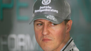 Michael Schumacher Mercedes GP