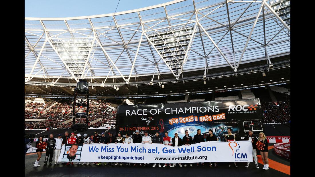 Michael Schumacher - Race of Champions - London - 2015