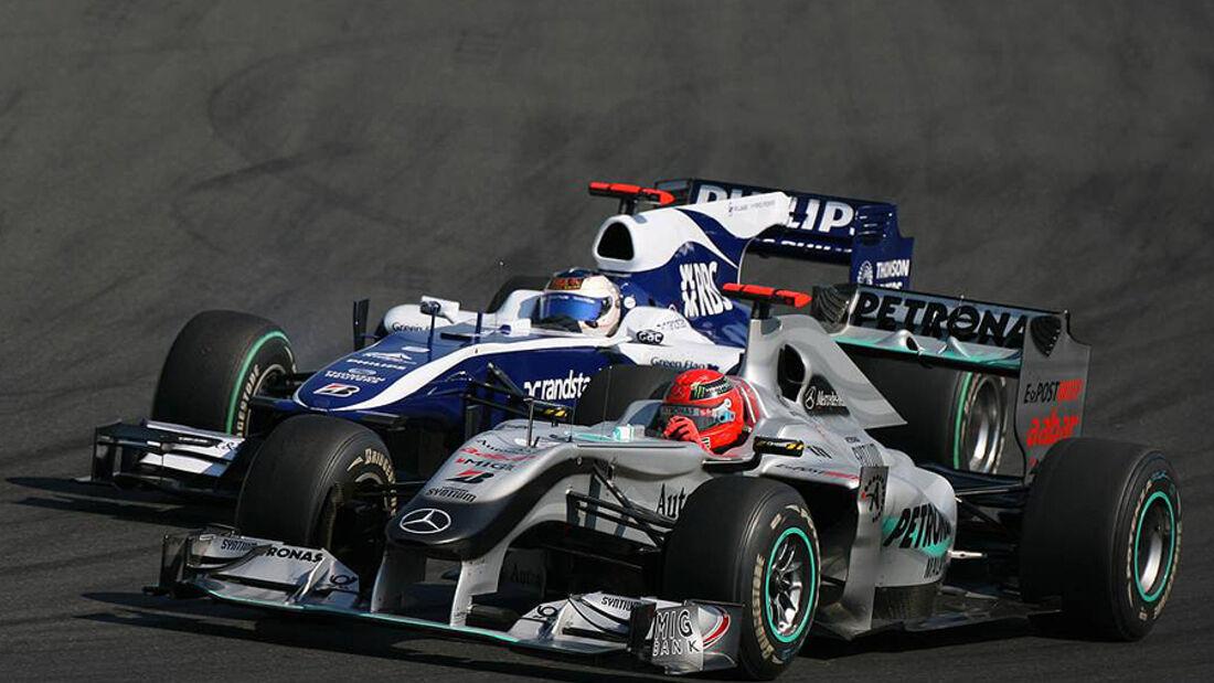 Michael Schumacher Rubens Barrichello GP Japan