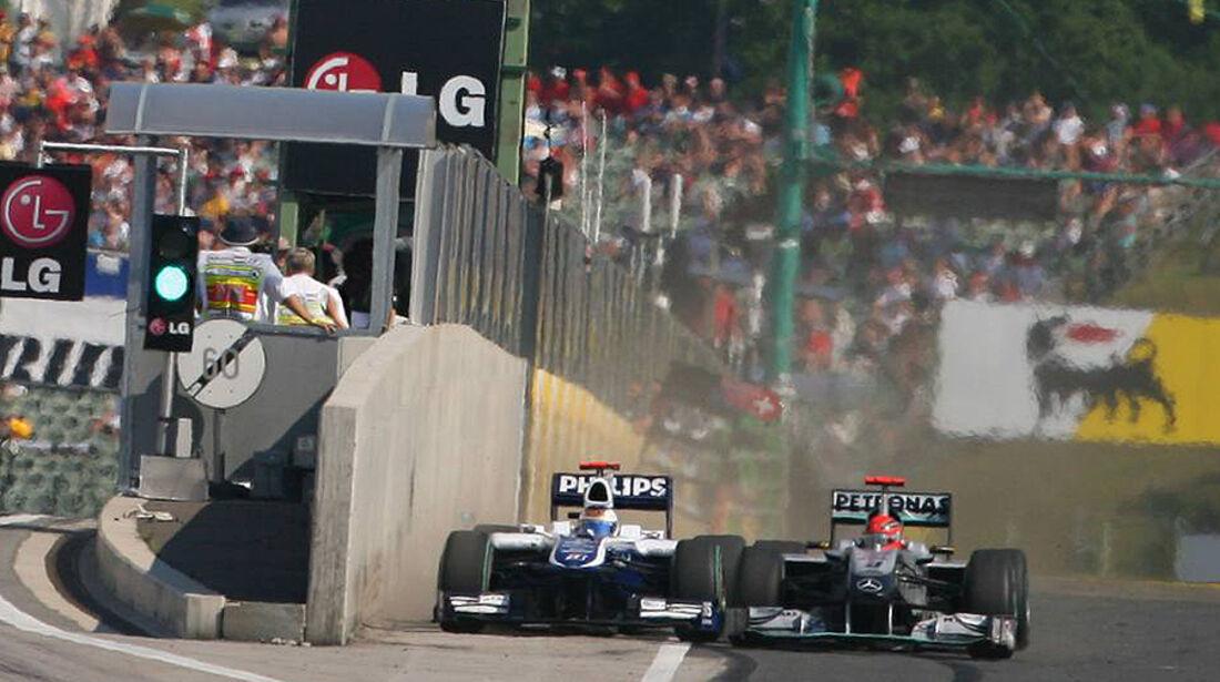 Michael Schumacher Rubens Barrichello Ungarn
