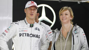 Michael Schumacher & Sabine Kehm